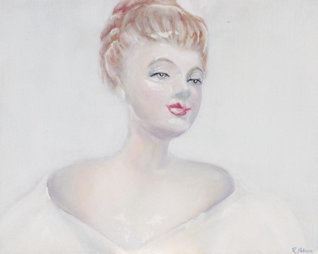 Porcelain figure oil painting tutorial