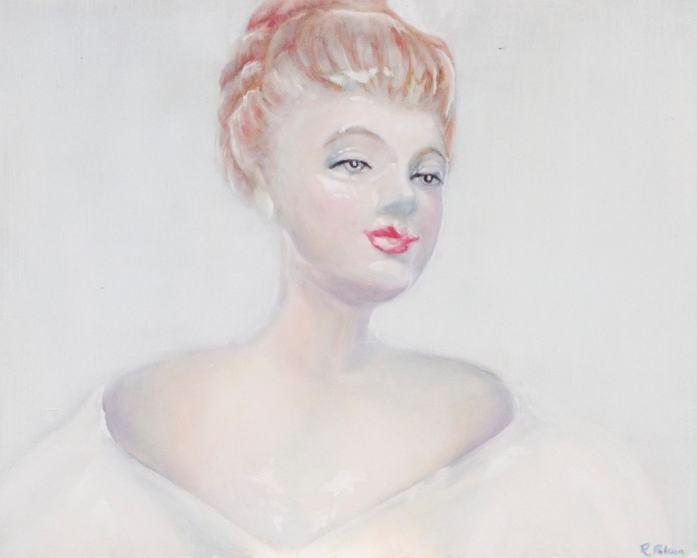 porcelain figure study oil painting