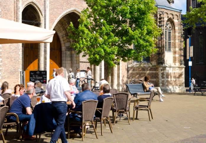 nieuwe kerk cafe delft
