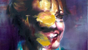 Portrait of Damiano: Oil Painting in the Style of Adrian Ghenie