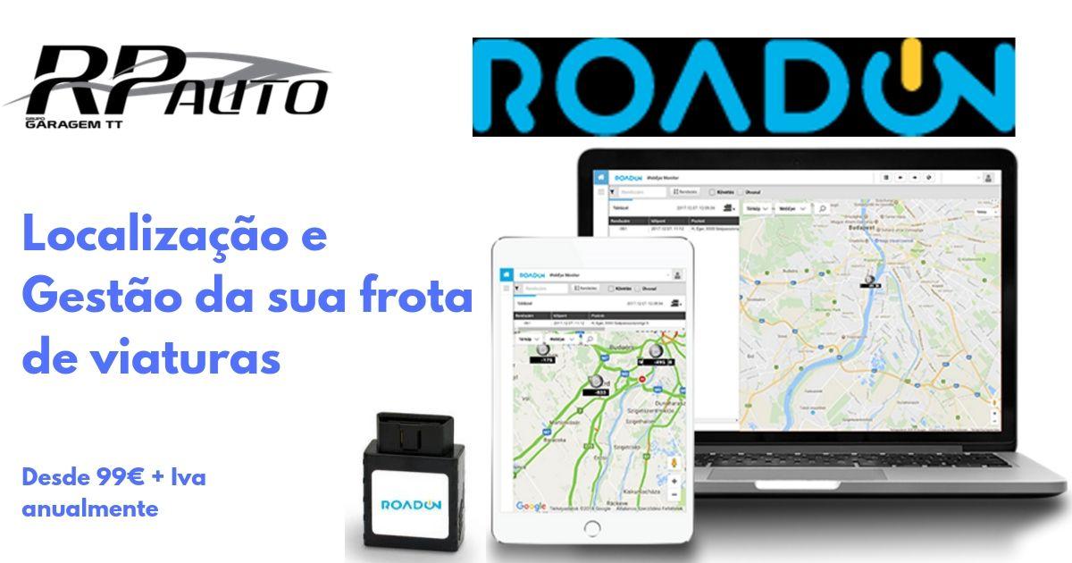 Localização e Gestão da Frota Automóvel - RoadON
