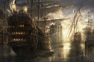Handelsschiffe in Baldurs Gate