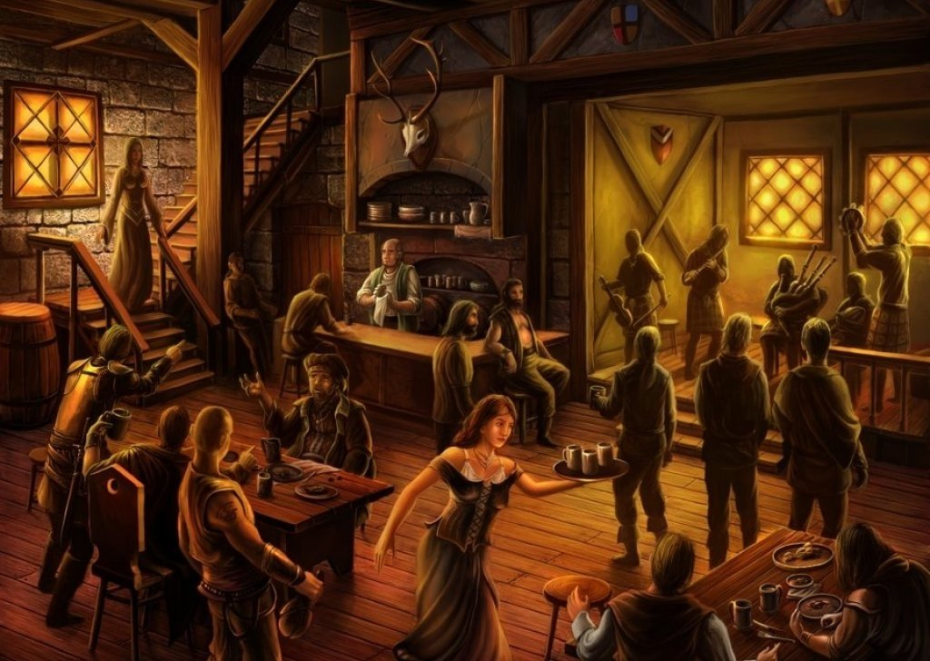 RPG Tavern With Bard Audio Atmosphere