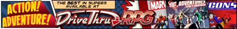 Superheroes - Available Now @ DriveThruRPG.com