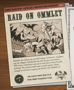 Raid on Ommlet - sounds tasty