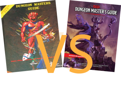 1st edition VS 5th Edition D&D