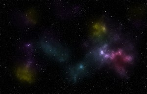Background for conducting space combat and the like