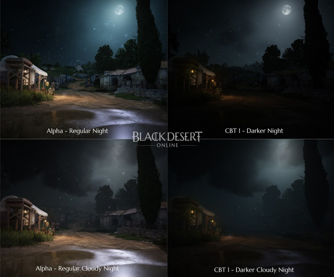 Dark Night Comparison