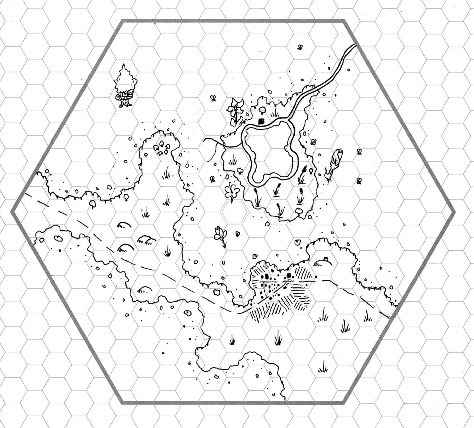 Friday Map The Honeyed Forest