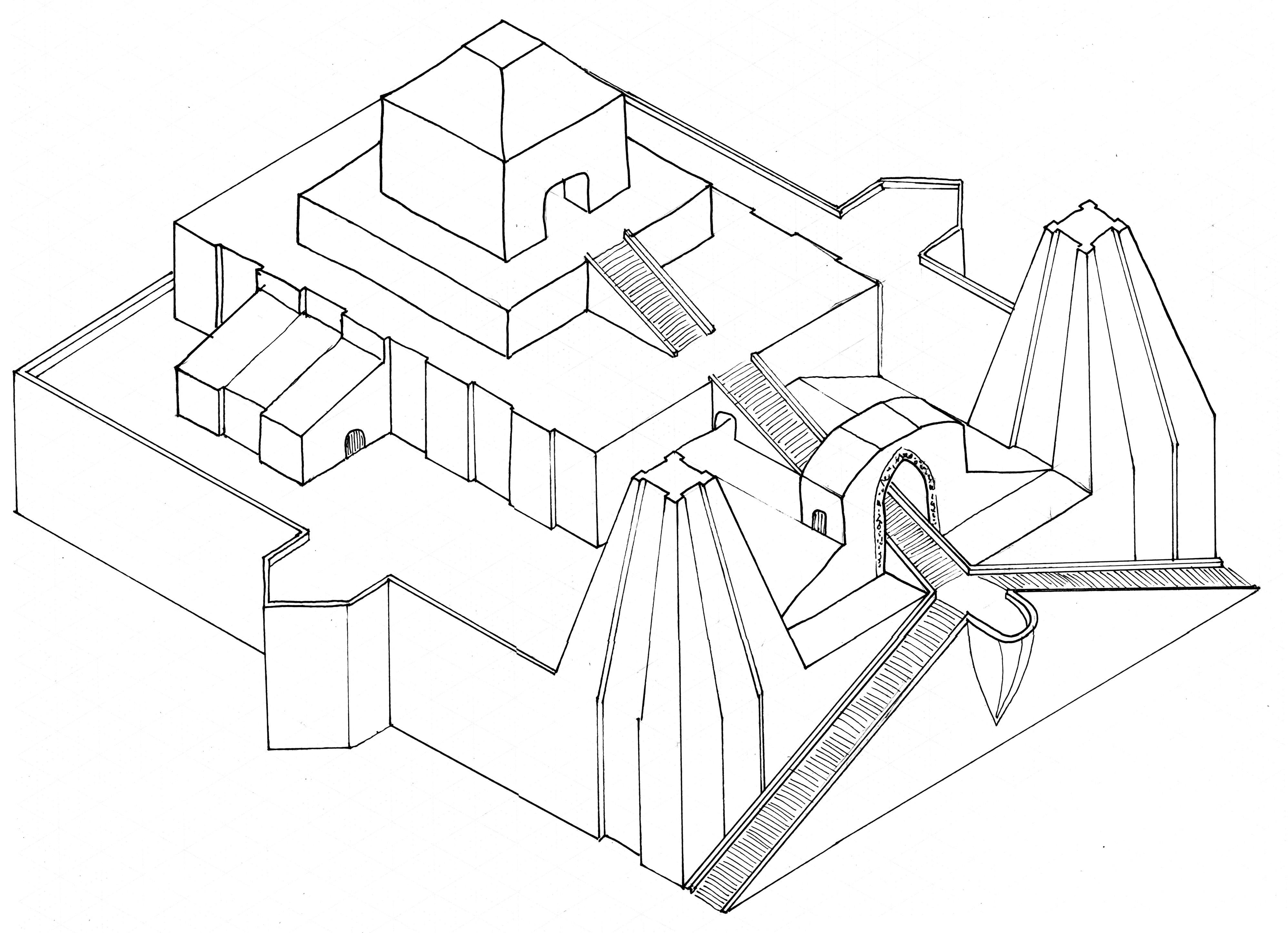 The Ziggurat In The Sand Part 1