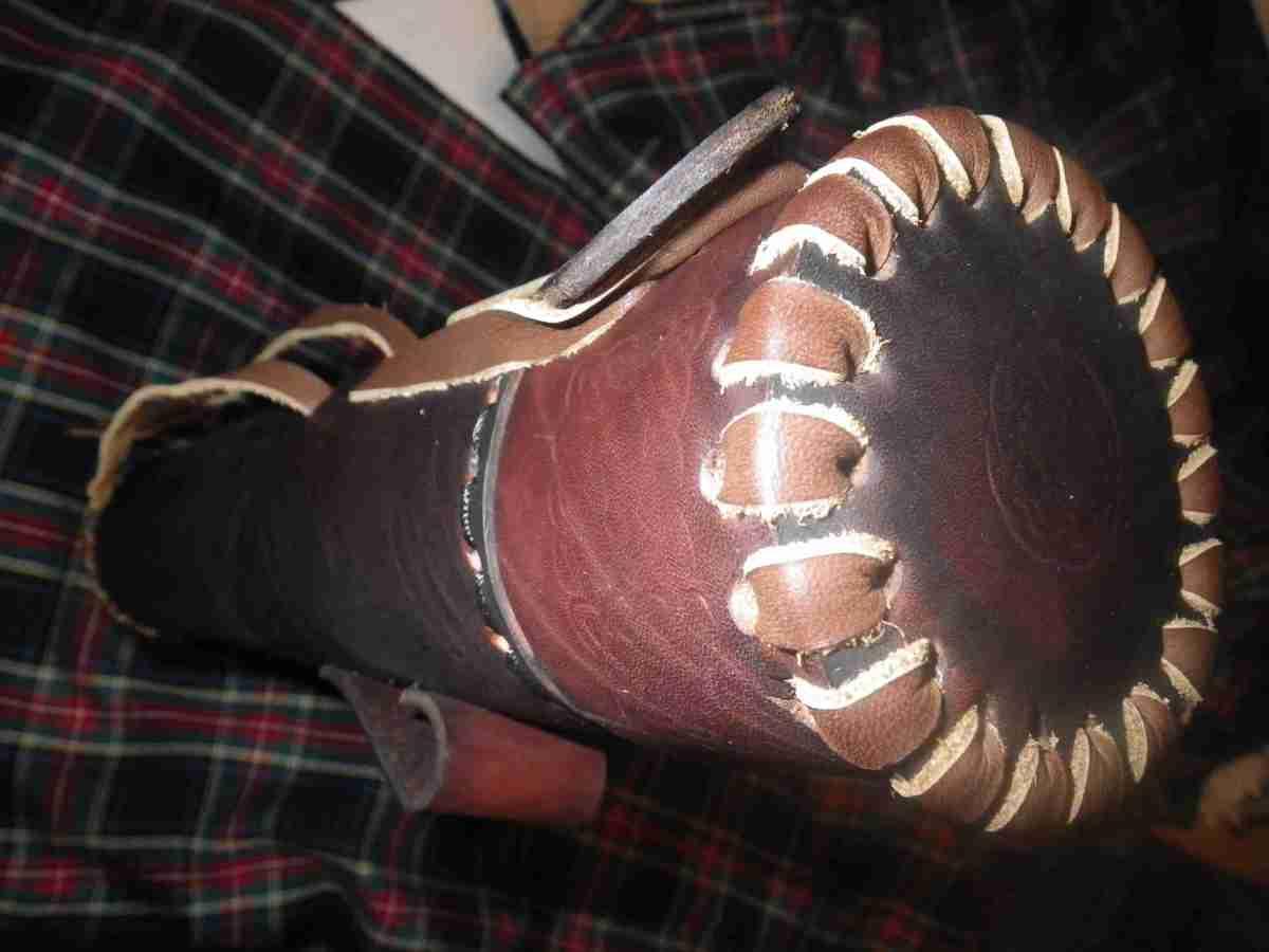 Как сделать кожаный тубус своими руками