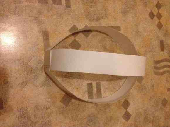 Как сделать маску оборотня этап 1