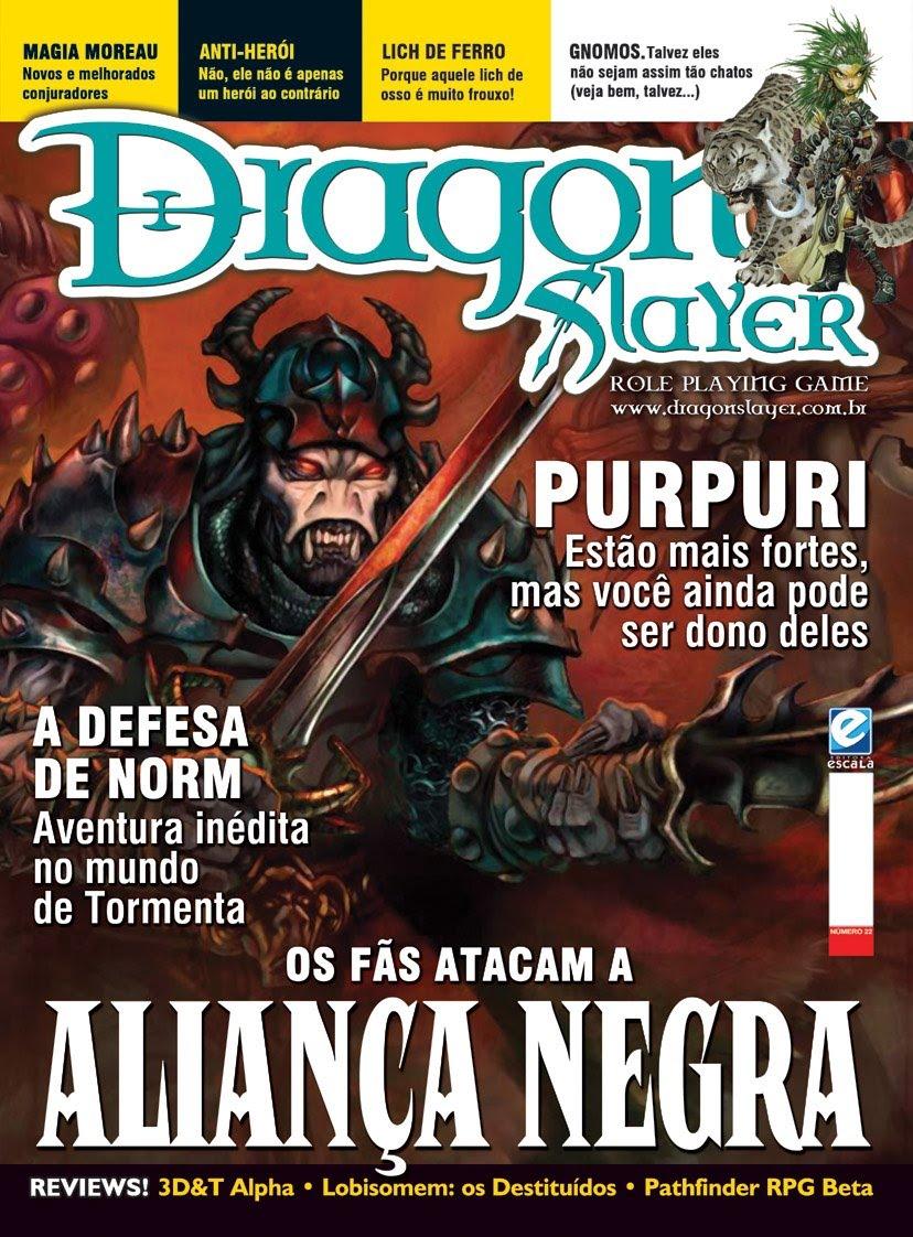 O Doutor Careca revelou há alguns minutos o indíce da revista Dragon Slayer #22. O maligno Doutor Careca acaba de liberar a capa dessa edição também, confiram abaixo Notícias do […]