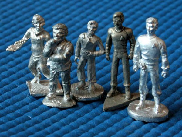 Miniaturas do Capitão Kirk