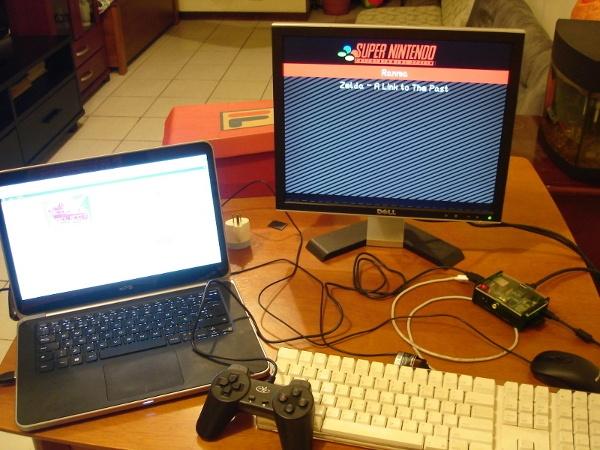 Emulador de Super Nintendo no Raspberry Pi