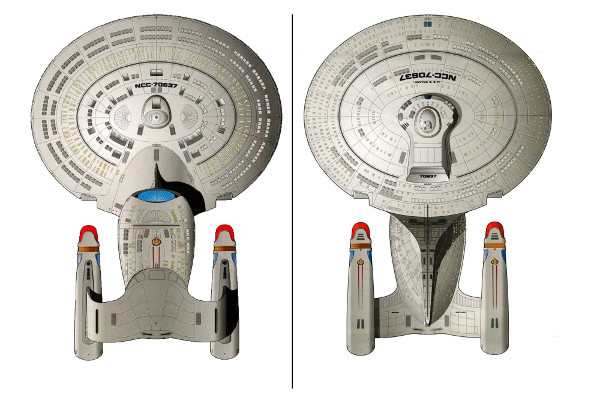 Miniatura da Enterprise 1701 D