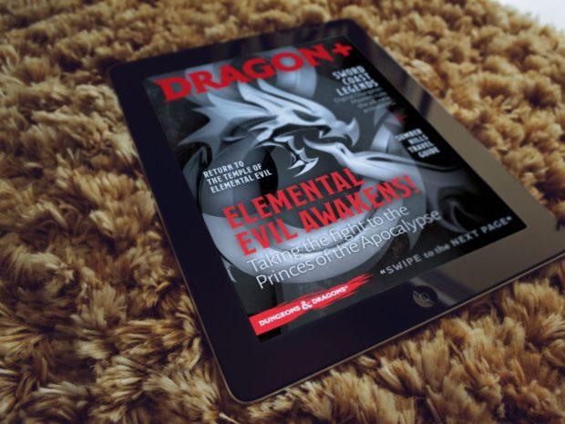 Capa da primeira edição da Dragon +