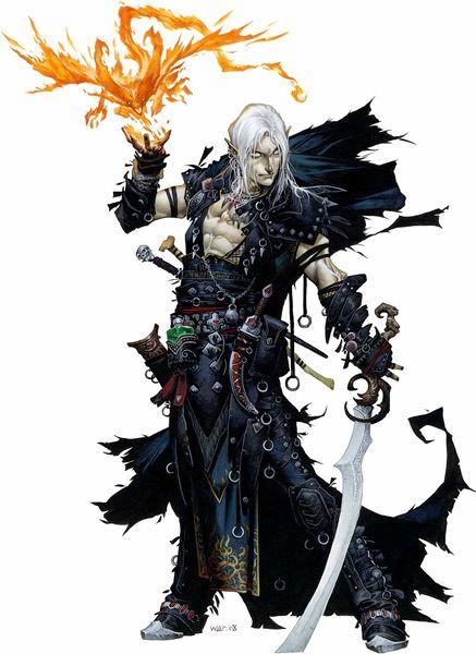 magus, multiclasse de feiticeiro/mago