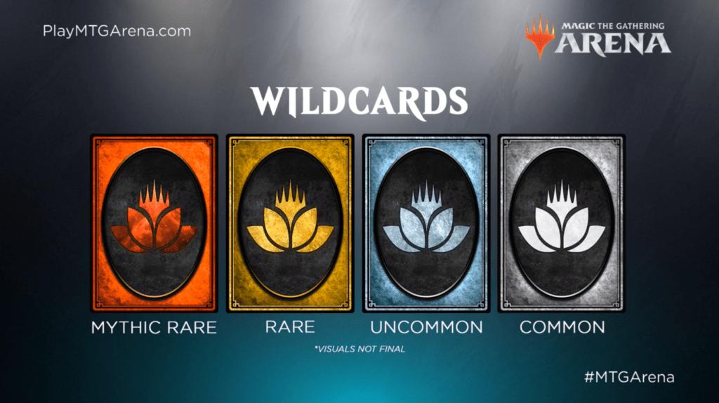 MTG Arena - Wildcards