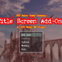 Title Screen Add-On RMMV Plugin
