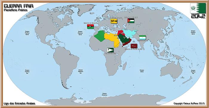 Political map 2042