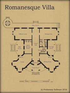 CA112 Romanesque Villa
