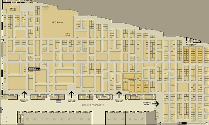 GenCon Exhibitor Hall