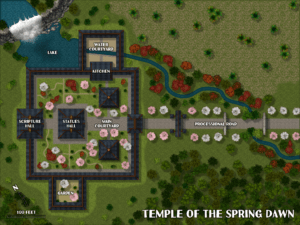 Temple of the Spring Dawm
