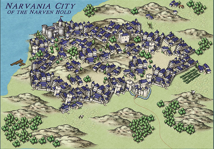 Narvania City