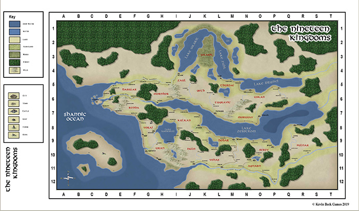 The Nineteen Kingdoms