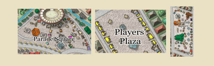 Squares and Plazas