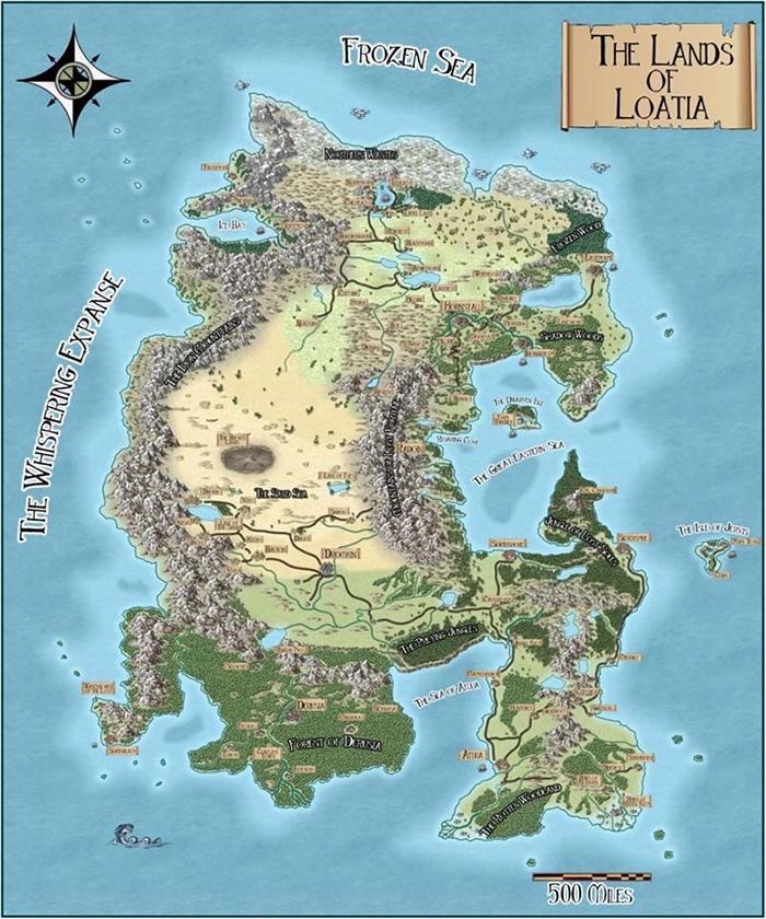 Lands of Loatia