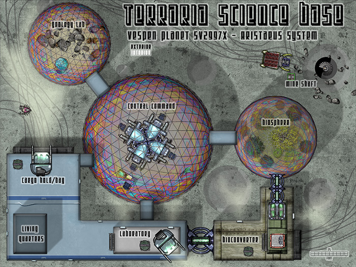 Sci-Fi Base Exterior