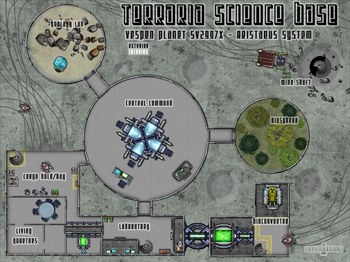Sci-Fi Base - Interior
