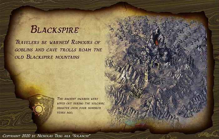 Blackspire by Nicholas Tang