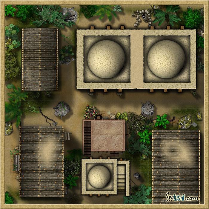 Jungle Temple by Arcwynd