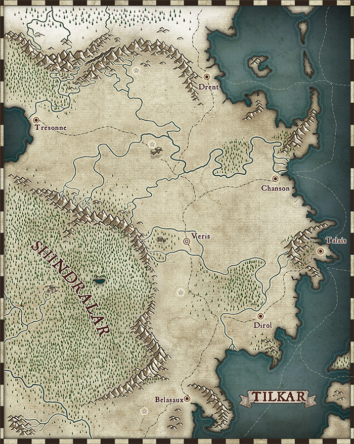 Tilkar map by Medio
