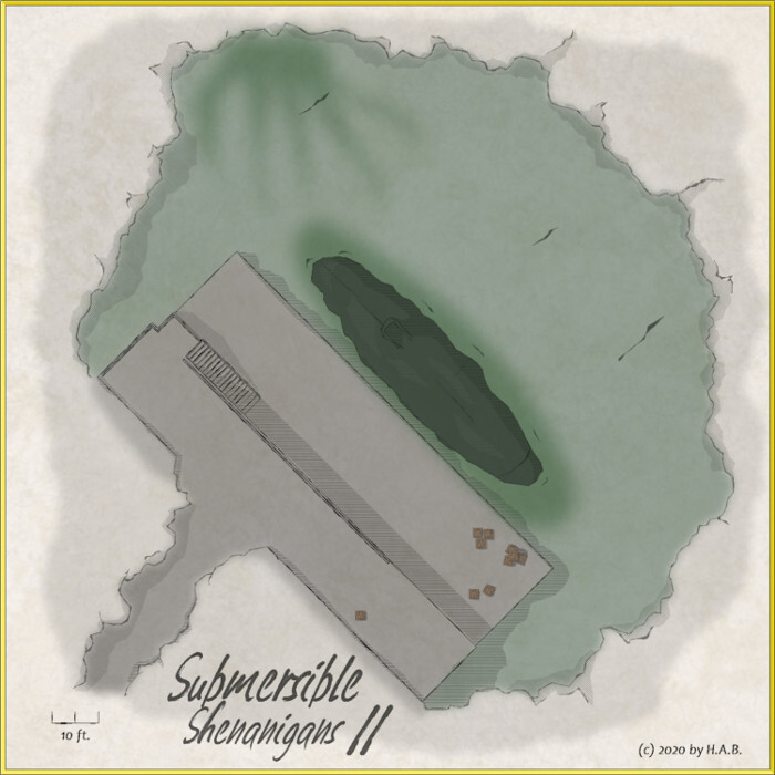 Lillhans - Submersible Shenanigans