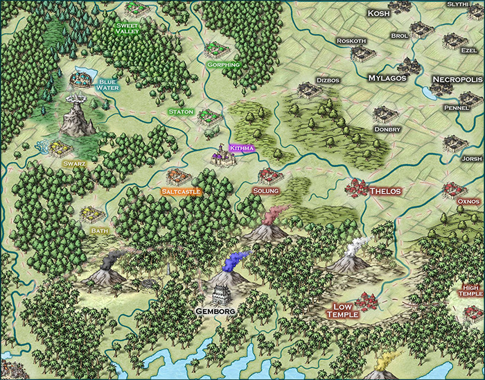 Glorantha Region