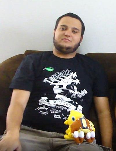Gabriel Ramos com Camiseta TnB