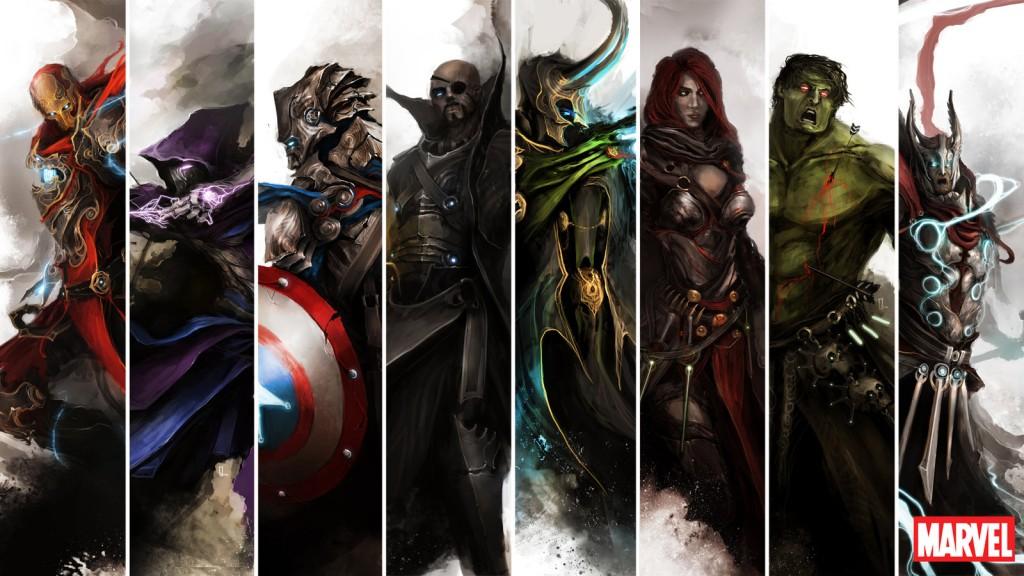 E se Os Vingadores invadissem sua mesa?