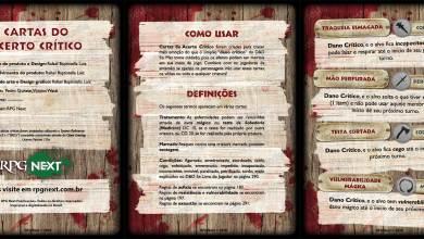 Photo of Cartas do Acerto Crítico para D&D 5e – Playtest 1