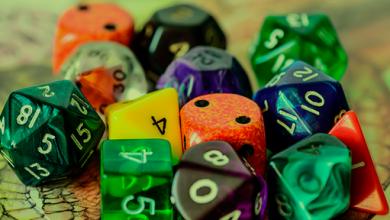 Photo of Dados para RPG: quais os tipos e onde encontrar?