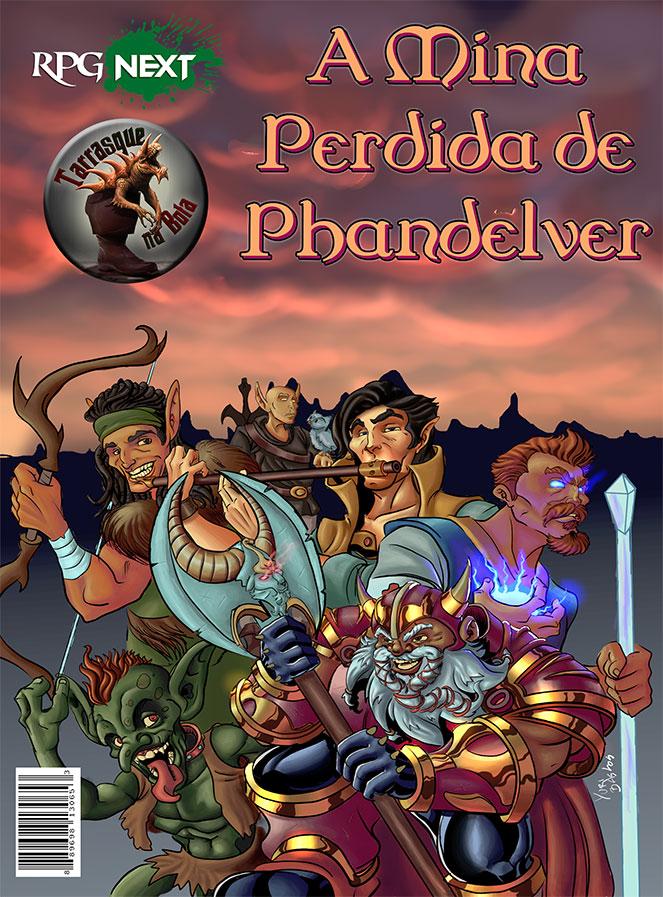 A Mina Perdida de Phandelver, por Yuri Bastos