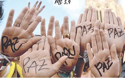 Felices los que trabajan por la paz, porque serán llamados hijos de Dios – 31 de octubre