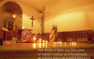 DOS ESPACIOS PARA DESCALZARSE – Hermanas Trinitarias de Suesa