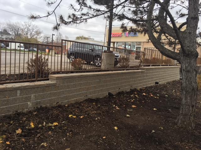 Brick Wall Retainer Installs