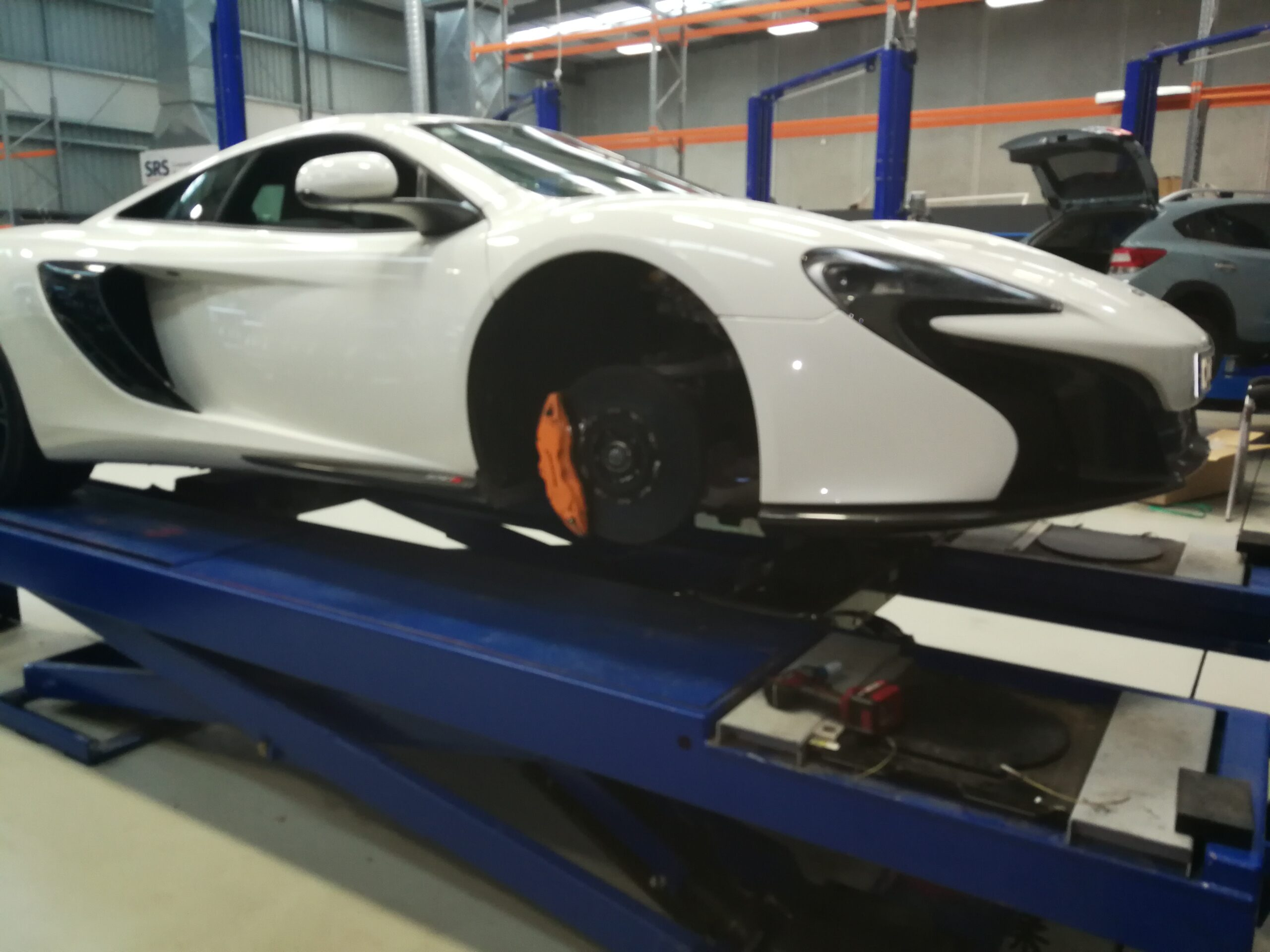 Maserati brake service