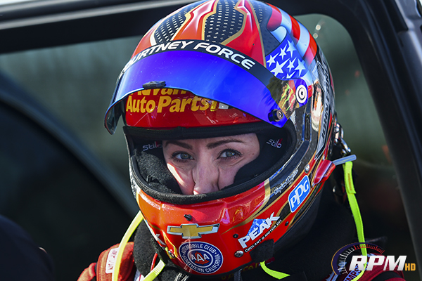 Courtney Force adds record to growing list