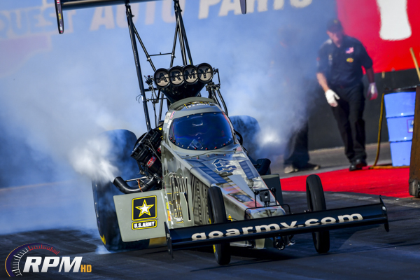 Drama completes NHRA 4-wide qualifying at Vegas